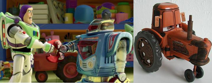Toy story 3 pixar - Tracteur cars ...
