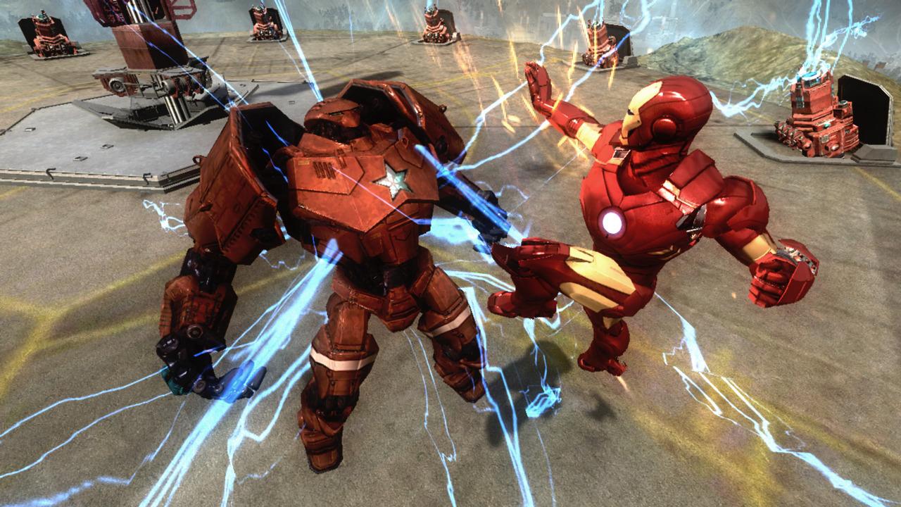 Capture du jeu vidéo Iron Man 2 sur PS3