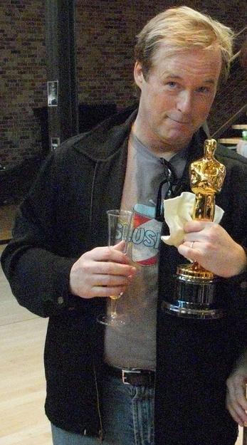 Brad Birrd après son Oscar (Wikipedia)