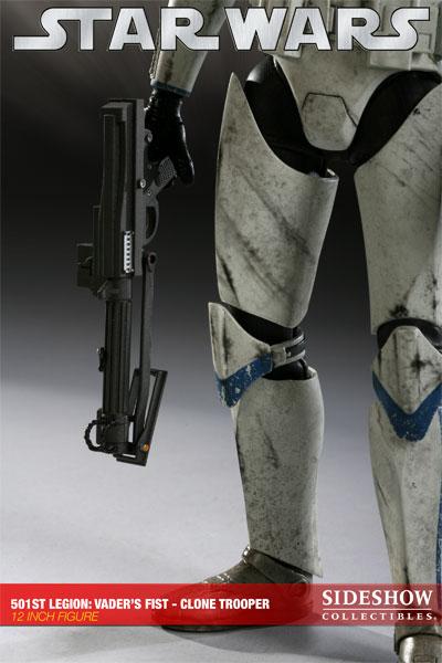 Figurine d'un soldat de la 501ème légion (Sideshow Collectibles)