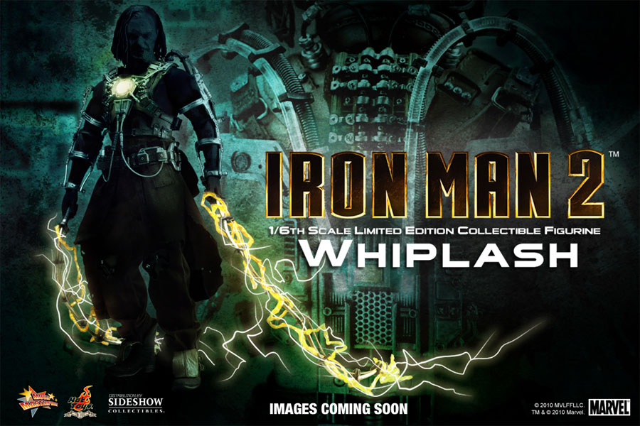 Figurine de Whiplash (Iron Man 2) par Hot Toys