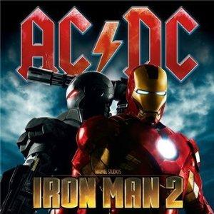 Couverture de la musique d'Iron Man 2 par AC / DC