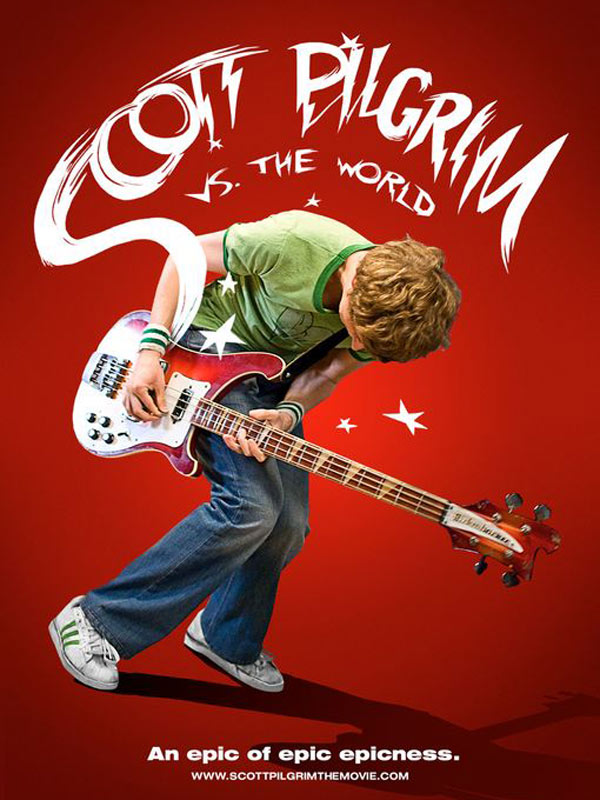 Affiche du film Scott Pilgrim vs The World