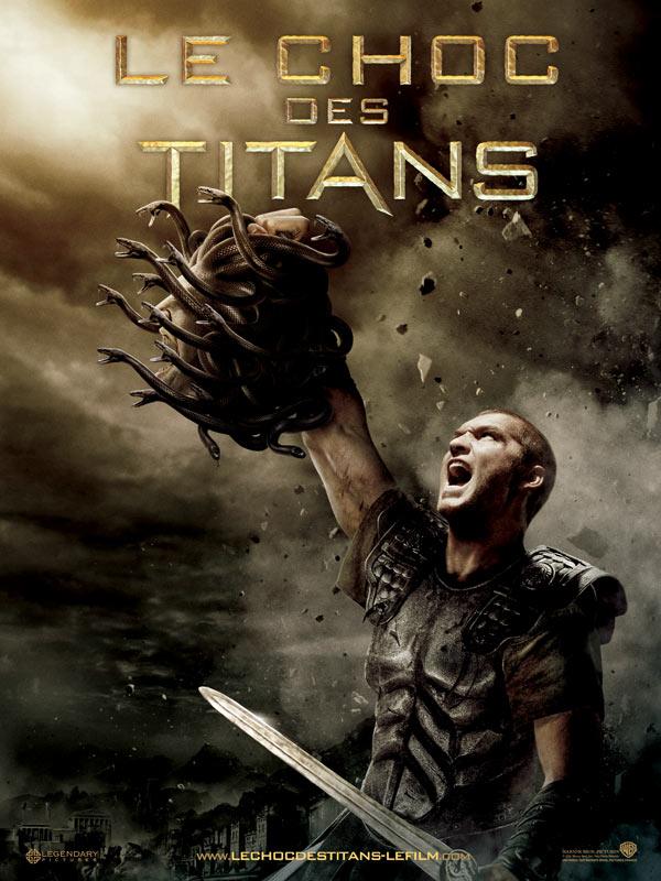 Affiche du choc des titans