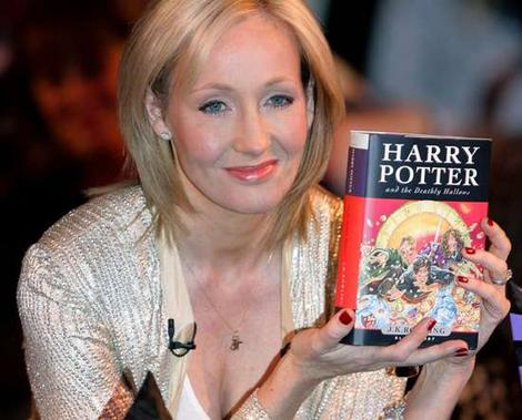 Photo de J.K . Rowling, l'auteure d'Harry Potter