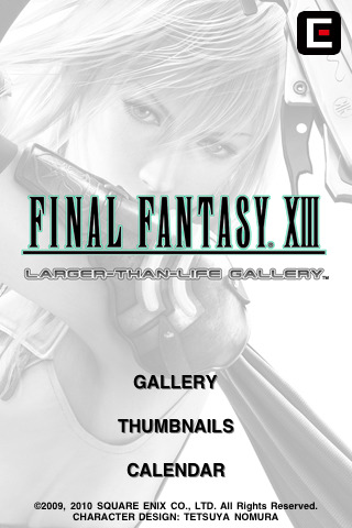 Artbook Final Fantasy XIII