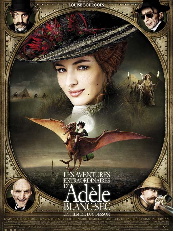 Affiche du film Adèle Blanc Sec