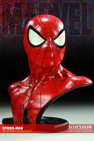 Buste Spider Man chez Sideshow Collectibles