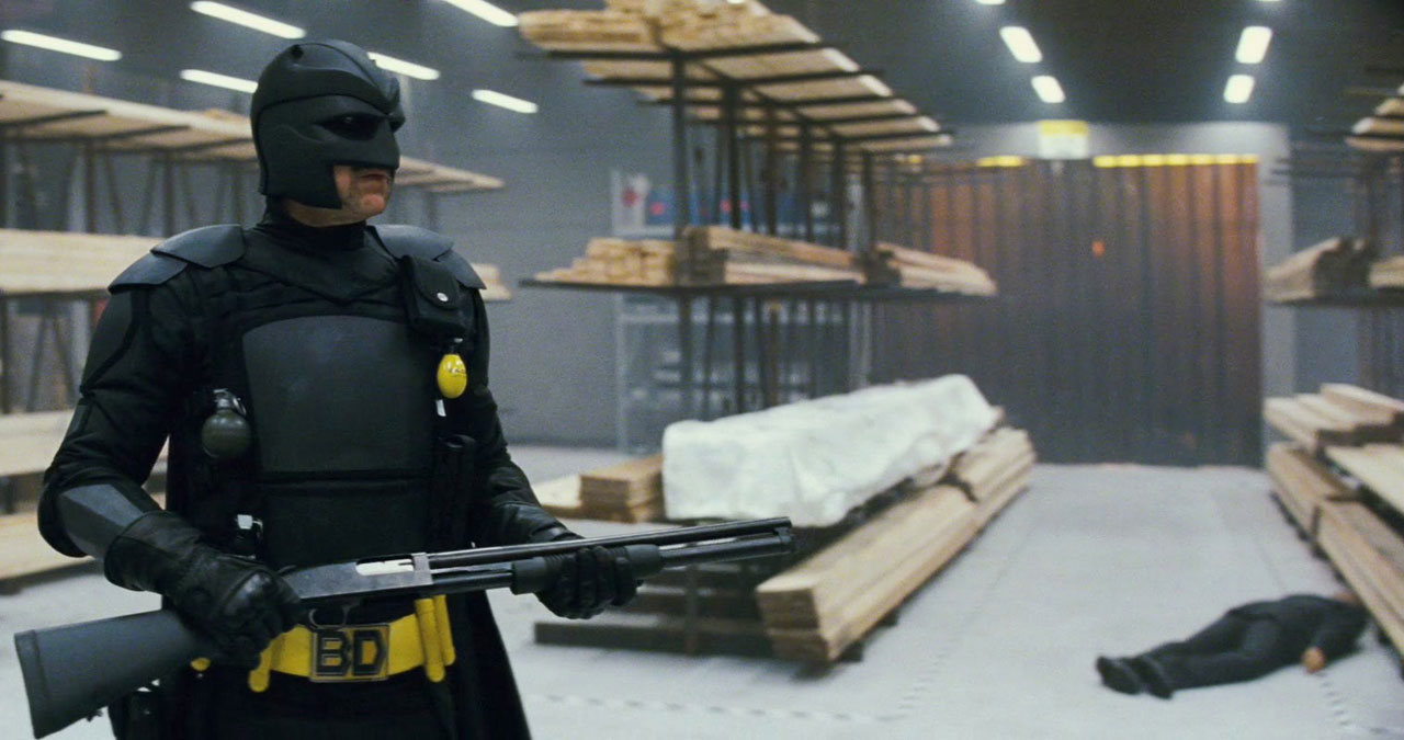 Nicolas Cage en clone de Batman (Kick Ass)