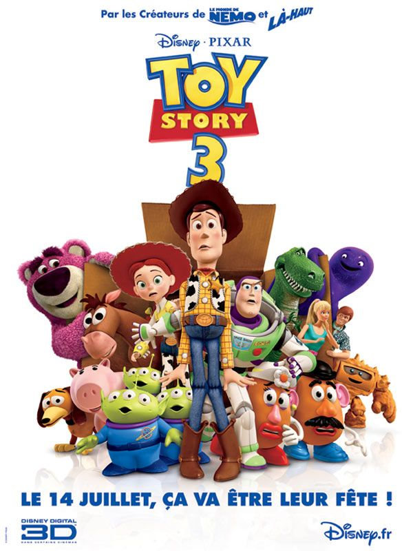 Affiche Toy Story 3