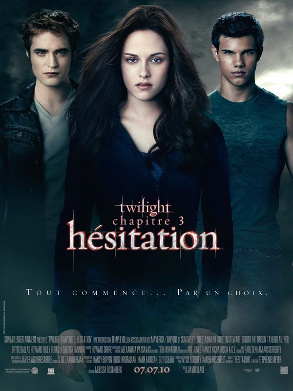 Affiche de Twilight 3 : hesitation