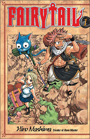 Couverture Américaine de Fairy Tail 1