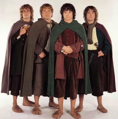 Hobbits du Seigneur des anneaux
