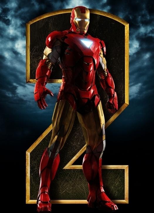 Affiche Teaser d'Iron Man 2
