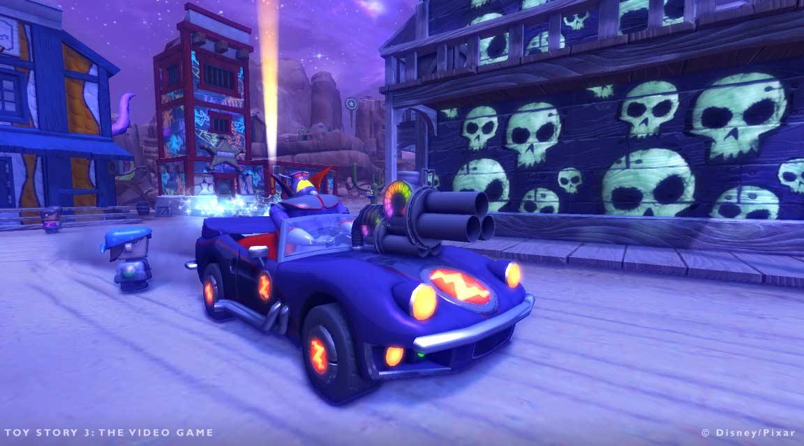 On ne peut contrôler Zorg que dans la version PS3 du jeu Toy Story 3