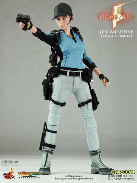 Figurine de Jill Valentine (Resident Evil 5) par Hot Toys