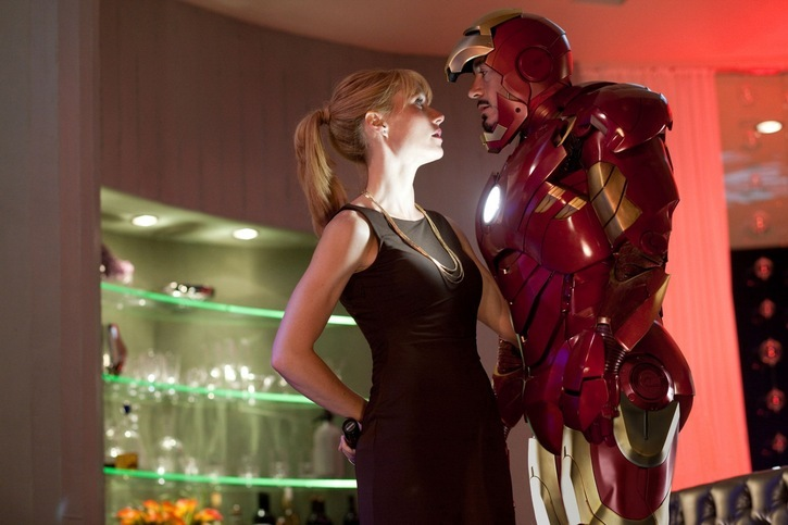 Iron Man et sa belle