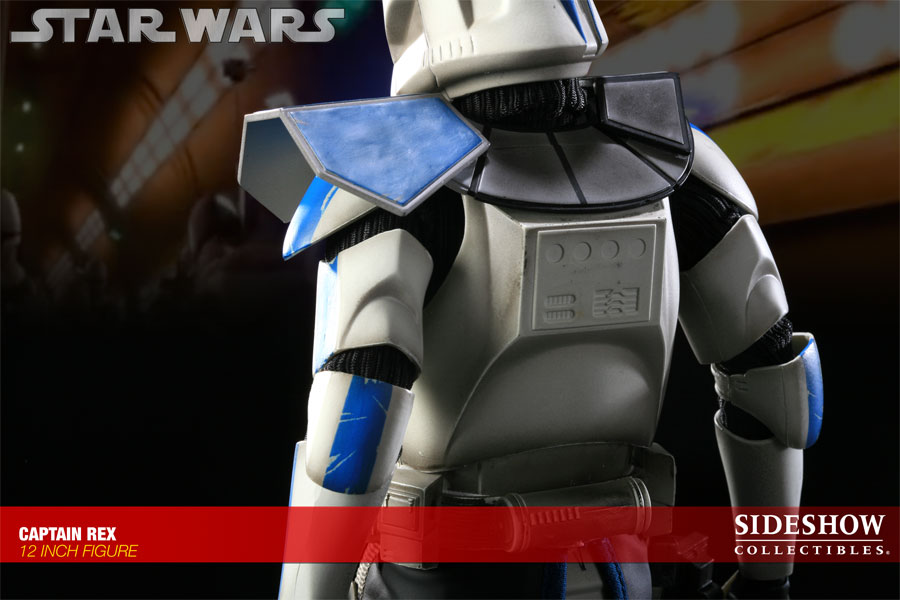 Figurine Sideshow Collectibles Star Wars sur le capitainre Rex