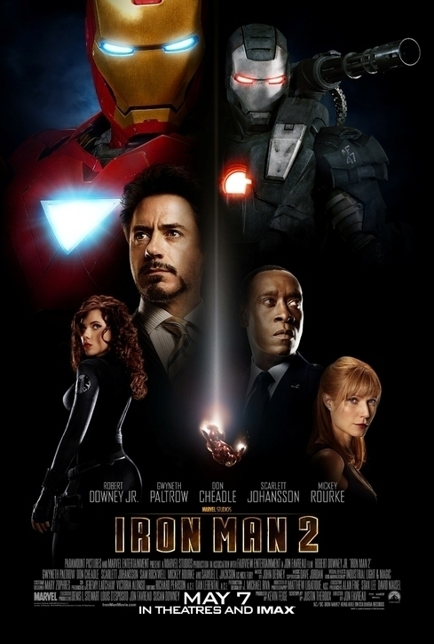Affiche amricaine d&#039;Iron Man 2