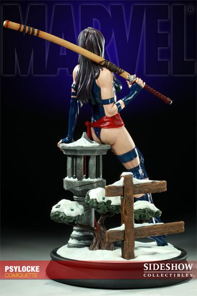Figurine Psylocke des Xmen (Sideshow Collectibles)