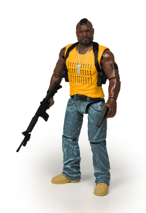 Photo de la figurine de Mr T (Agence Tous risques)