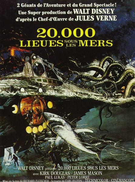 Affiche de 20 000 lieux sous la mer