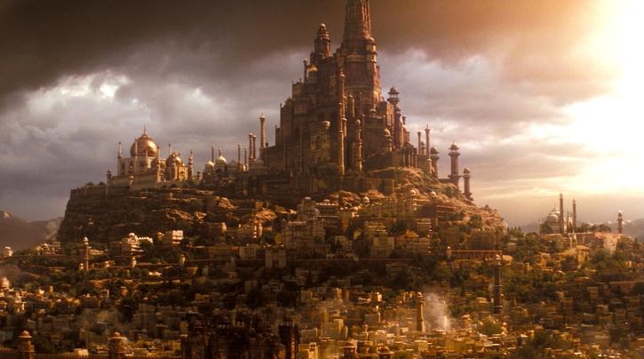 Une ville dans Prince of Persia