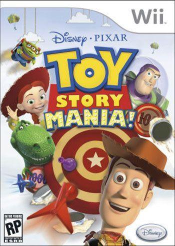 Couverture du jeu vidéo Toy story Mania