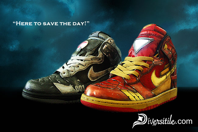 Chaussure Nike Iron Man 2