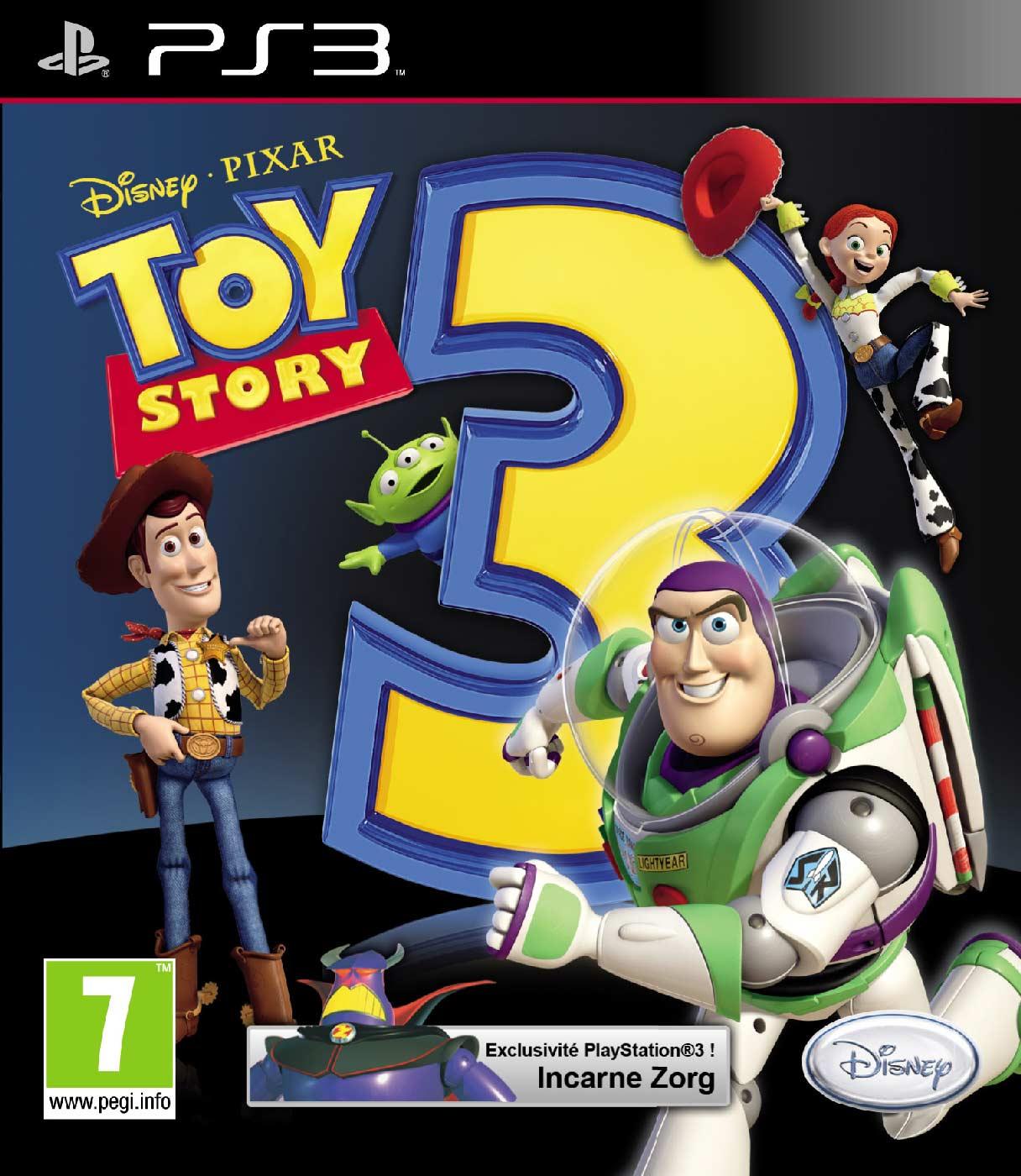 Couverture du jeu vidéo Toy story 3