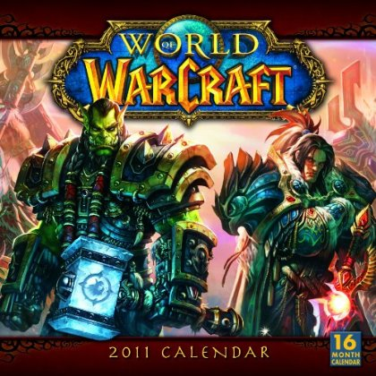 Calendrier 16 pages World of Warcraft