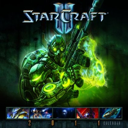 Calendrier 12 pages Starcraft 2