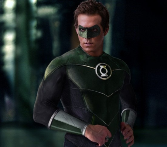 Ryan Reynolds en Green Lantern (DR)