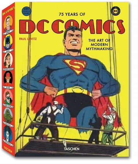 Couverture du livre 75 Years of DC Comics: The Art of Modern Mythmaking