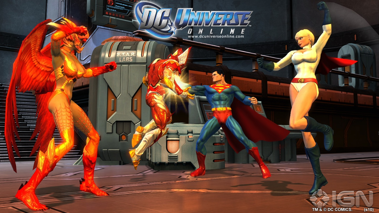 Capture de DC Universe Online