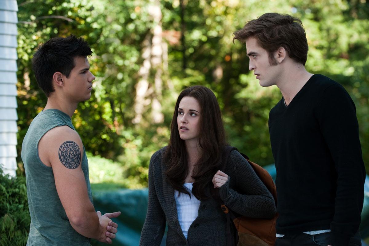 Photo de Twilight avec Edward Cullen, Bella et Jacob