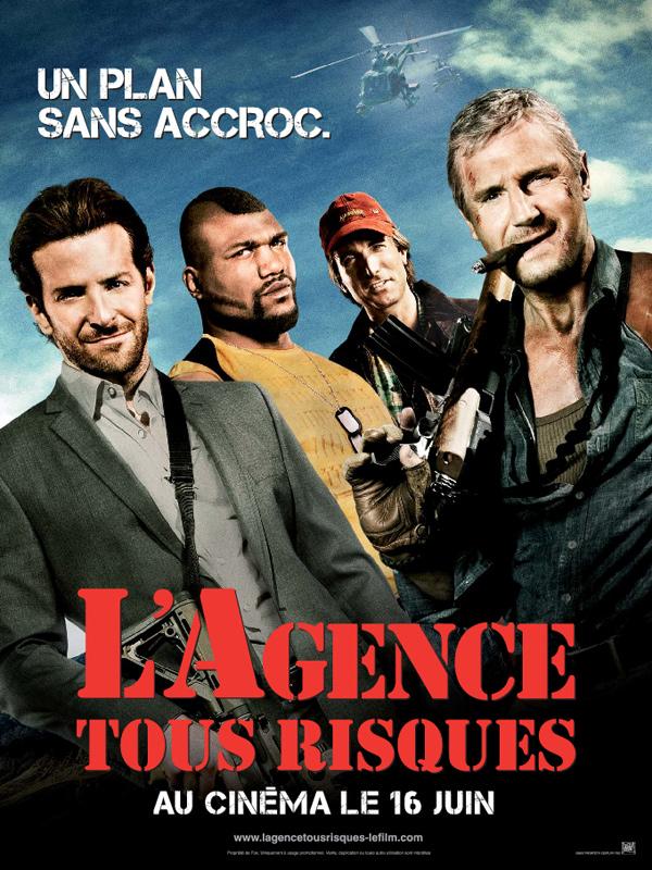 Affiche de l'agence tous risques
