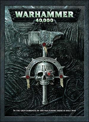 Couverture du livre Warhammer 40000