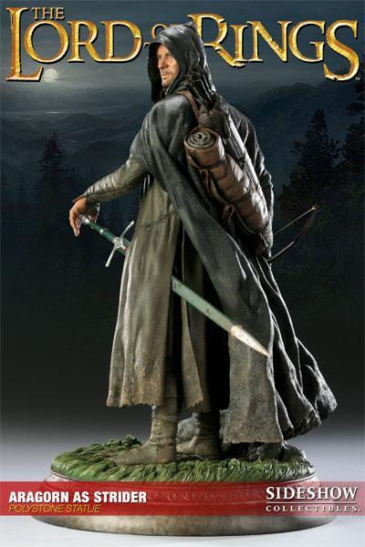 Figurine d'Aragorn en Grand-Pas du Seigneur des Anneaux