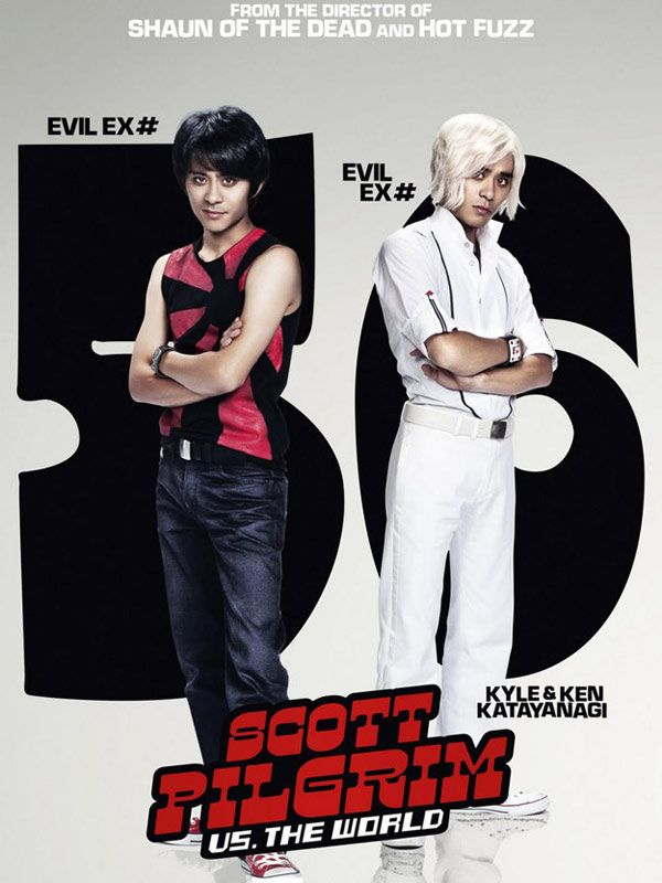 Affiche teaser du film Scott Pilgrim vs the World