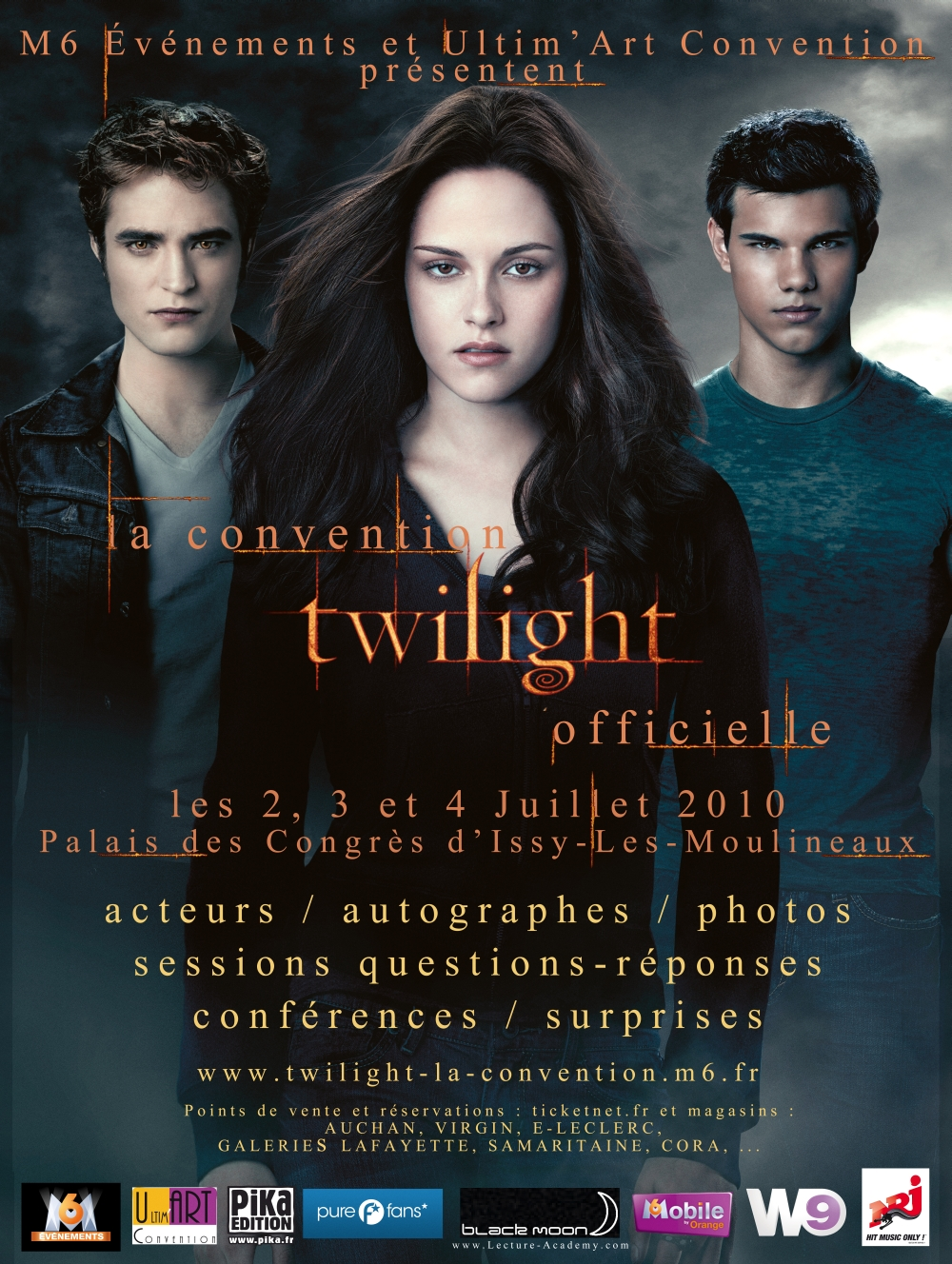 Twilight : affiche de la convention