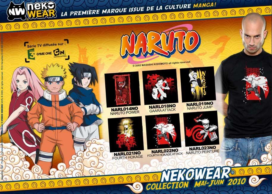 Collection Naruto (NekoWear)