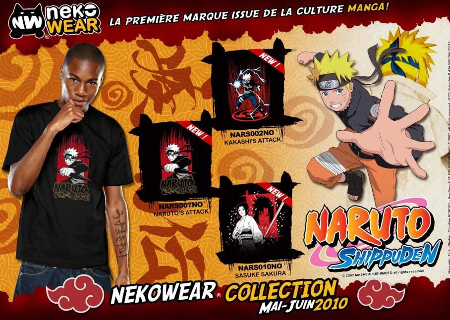 Collection Naruto Shippuden (NekoWear)