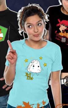 T-Shirts Manga : NekoWear prépare l'été 2010