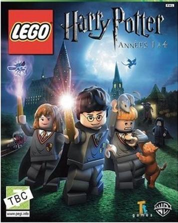 Couverture du jeu vidéo Harry Potter