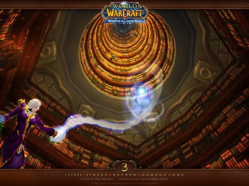 Wallpaper officiel de World of Warcraft