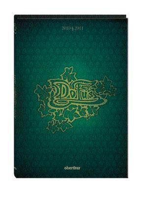 Couverture d'un agenda 2010 - 2011 Dofus