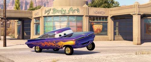 Image de Cars du studio Pixar