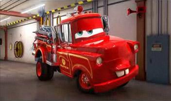 Martin en Pompier dans Martin se la raconte