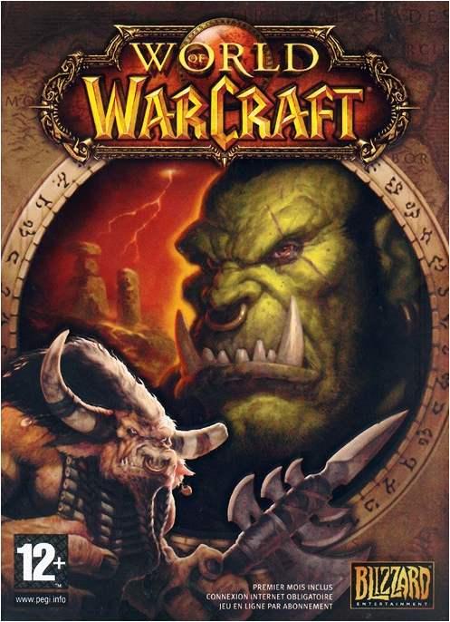 Couverture du jeu vidéo World of Warcraft